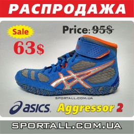 Борцовки Asics Aggressor 2 Limited Edition LE J300Y Wrestling / Boxing