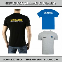 Футболка Asics Ukraine Wrestling Team Борьба
