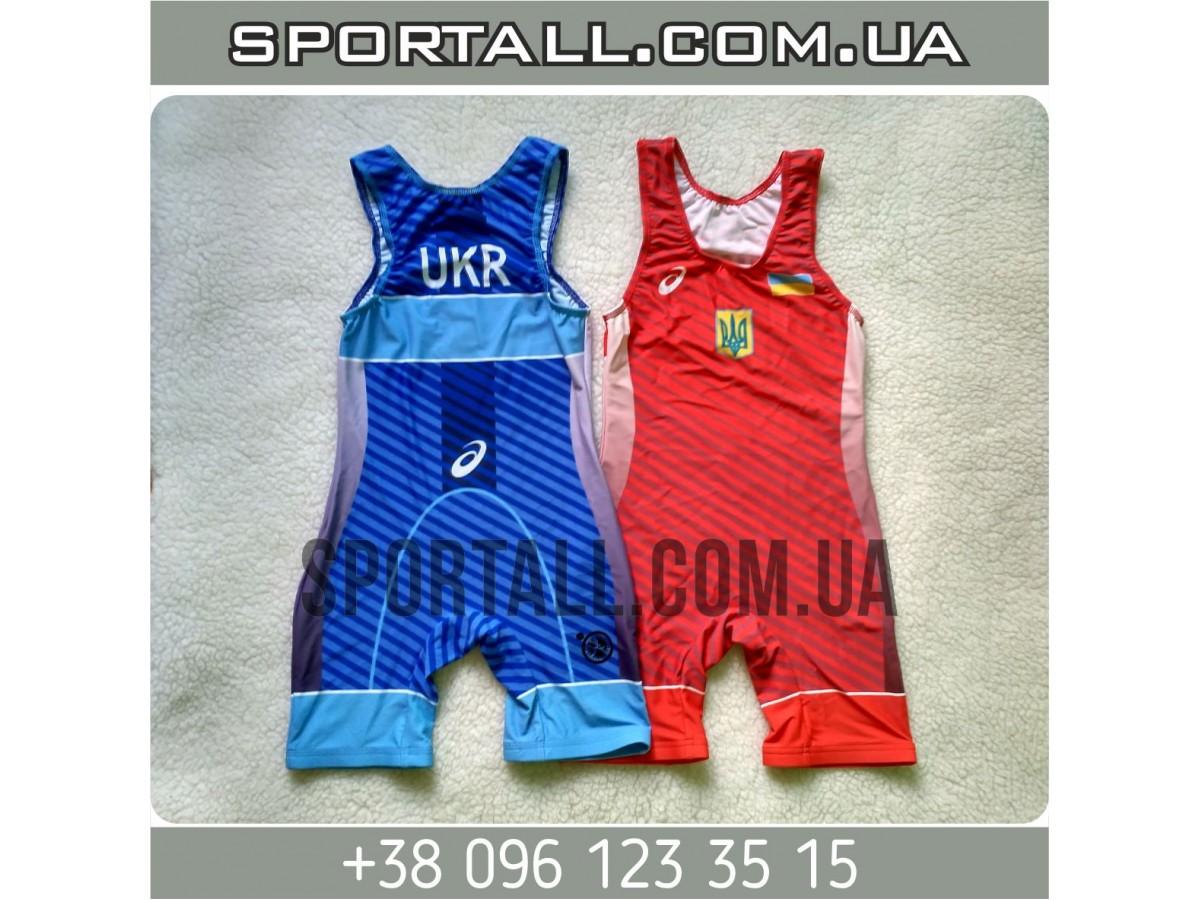 Трико борцовское Asics wrestling singlet 63a8947eb3a