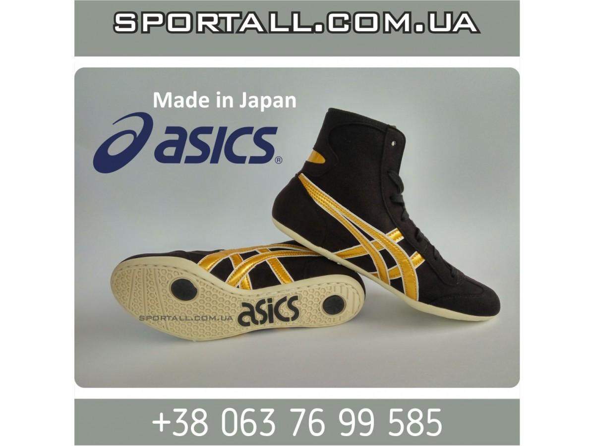 Борцовки Asics асикс сборной по борьбе черные Wrestling shoe black ... 689dfb9c28f